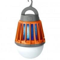 Dispozitiv antiinsecte cu bec LED, Hoff, acumulator, 3 trepte de iluminare, incarcare USB