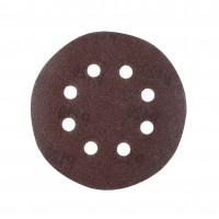 Disc abraziv cu autofixare, pentru lemn / metale, Lumytools, 125 mm, granulatie 120, set 10 bucati