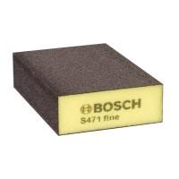 Burete abraziv, pentru slefuire vopsea / lemn / metale, Bosch 2608608226, 69 x 97 x 26 mm, granulatie fina