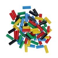 Bagheta adeziv color, pentru lipire, Bosch 2608002005, 7 x 20 mm, set 70 bucati