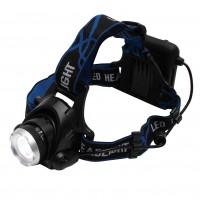 Lanterna LED frontala Home HLM 4, alimentare baterii (4 x AA), 0.5W, 800 lm, 3 moduri de iluminare, focus