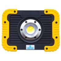 Proiector LED Hepol 10W, alimentare baterii, lumina rece, IP65