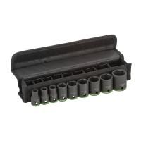 Set 9 chei tubulare, prindere 1/2, Bosch 2608551100
