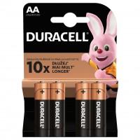 Baterie Duracell Basic, AA, alcalina, 4 buc