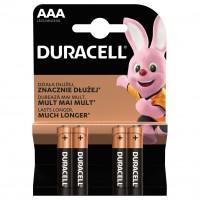 Baterie Duracell Basic, AAA, alcalina, 4 buc