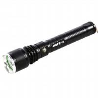 Lanterna LED Hoff reincarcabila, 10W, 700 lm, 5 moduri de iluminare