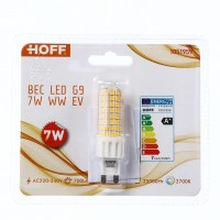 Bec LED Hoff mini G9 7W 700lm lumina calda 2700 K
