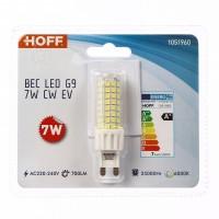 Bec LED Hoff mini G9 7W 700lm lumina rece 6000 K