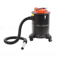 Aspirator pentru cenusa Paxton NSAC101MA-18-1200A, 18 l, 1200 W, filtru Hepa, functie de suflare, negru + portocaliu