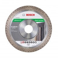 Disc diamantat, continuu, pentru placi ceramice, Bosch Best for Ceramics, 125 x 22.23 x 1.4 mm