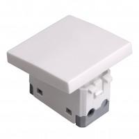 Intrerupator cap scara simplu Hoff, incastrat, modular - 2, 16A