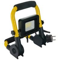 Proiector LED Hepol, 20W, lumina rece, cu stativ, pliabil
