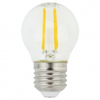 Bec LED filament Hoff mini G45 E27 5W 600lm lumina calda 2700 K