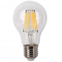 Bec LED filament Hoff clasic A60 E27 8W 970lm lumina neutra 4000 K