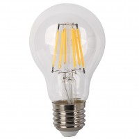 Bec LED filament Hoff clasic A60 E27 8W 960lm lumina rece 6500 K