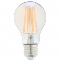 Bec LED filament Hoff clasic A60 E27 10W 1100lm lumina calda 2500 K, auriu