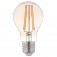 Bec LED Hoff clasic A60 E27 10W 1200lm lumina calda 2500 K, auriu, dimabil
