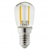 Bec LED filament Hoff mini ST26 E14 2W 249lm lumina neutra 4000 K