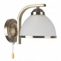 Aplica Darla LY-3311, 1 x E27, bronz + alb