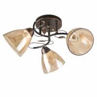 Lustra Jody LY-3353, 3 x E27, bronz antic + bej