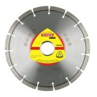 Disc diamantat, cu segmente, pentru debitare materiale de constructie, Klingspor DT 350 B Extra, 150 x 22.23 x 2.4 mm