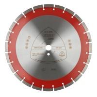 Disc diamantat, cu segmente, pentru debitare beton / materiale de constructie, Klingspor DT 350 B Extra, 400 x 25.4 x 3.2 mm