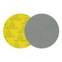 Disc abraziv cu autofixare, pentru slefuire vopsea / lac / chit, Klingspor FD500, 125 mm, granulatie 2000