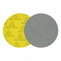 Disc abraziv cu autofixare, pentru slefuire vopsea / lac / chit, Klingspor FD500, 125 mm, granulatie 1000