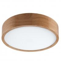Plafoniera LED Evelina 39152, 35W, stejar, lumina neutra