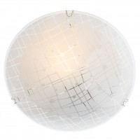 Plafoniera Graf 05-888, 1 x E27, D 250 mm, alba