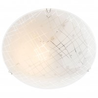 Plafoniera Graf 05-889, 1 x E27, D 300 mm, alba