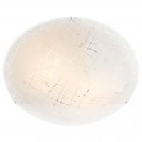 Plafoniera Graf 05-890, 2 x E27, D 400 mm, alba