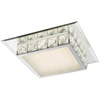 Plafoniera LED Margo 49355-18, 18W, cristale K5 transparente