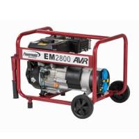 Generator de curent Pramac Powermate EM28000, monofazic, cu AVR Stage V, 2.8 kva, 7 CP