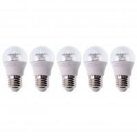 Bec LED Hepol mini E27 6W 550lm lumina calda 3000 K - 5 buc