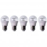 Bec LED Lohuis mini E27 6W 600lm lumina rece 6500 K - 5 buc