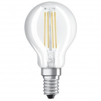 Bec LED filament Osram mini P40 E14 4W 470lm lumina calda