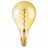 Bec LED decorativ vintage Osram Edison Fil Gold clasic A160 E27 5W 300 lm lumina calda 2000 K, dimabil