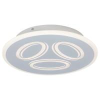 Plafoniera LED Rochelle 6708, 40W, lumina neutra, alba
