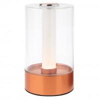 Veioza LED Tabby 01-1748, 2.5W, lumina calda, dimabila, cupru rosu
