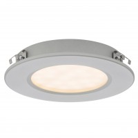 Spot LED incastrat / aparent MT 142 70370, 3W, lumina neutra, argintiu