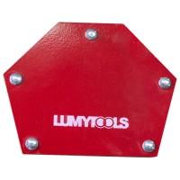 Vinclu pentru sudura, magnetic, Lumytools LT72470, 5 unghiuri 30-45-60-75-90, 20 kg