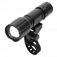 Lanterna LED pentru bicicleta Home BV17, alimentare baterii, 70 lm, 3 moduri de iluminare