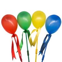 Lampa solara LED Hoff, balon multicolor, H 65 cm, diverse culori