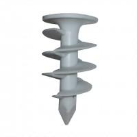 Diblu melcat pentru polistiren, din nylon, 25 x 50 mm, set 10 bucati