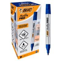Marker permanent, BIC Pro 964801, albastru