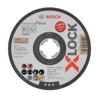Disc debitare inox, Bosch X-Lock Standard, 125 x 22.23 x 1 mm