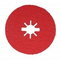 Disc abraziv pentru slefuire otel / inox / titan, Bosch X-Lock, 125 x 22.23 mm, granulatie 36