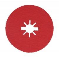 Disc abraziv pentru slefuire otel / inox / titan, Bosch X-Lock, 125 x 22.23 mm, granulatie 80