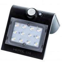 Aplica solara LED Butterfly, 1.5 W, 220 lm, lumina rece - 6500 K, cu senzor de miscare